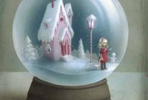 SNoW GLoBes/JaRs/UnDerGlaSS / by Michelle Smith