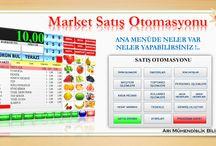 Market Barkod  Muhasebe Programı / Market, Kırtasiye, Kasap, Bakkal, Cep Telefoncu, Elektronik Malzeme Satış, için Barkod Muhasebe Programı