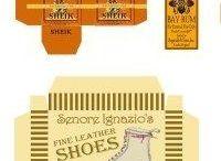 Printies Schuhschachteln