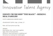 CASTINGS! / Here are the latest jobs we are searching great talent for!