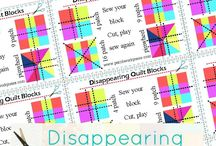 Disappering 16 Patch Quilts