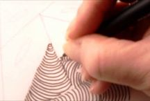 Zentangle-Doodle / tekenen