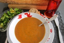 Jittery Soups / Fantastic soup recipes you will keep forever. These soups have been gathered from family, friends and experts.  Some were created from my own jittery experience. They all got thumbs up from everyone who sampled. I've got a bowl, pass the ladle please.