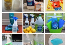 Home Cleaning Recipes / #DIY recipes for home cleaning solutions. / by Chamberlain
