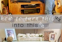 Upcycled & Repurposed Entertainment Centers