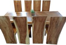 Rustic Wood Tables / Our very unique range of teak root and reclaimed wood tables add the perfect Rustic look for the home.  www.rustichouse.co.uk