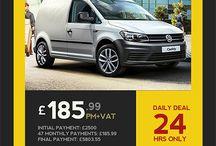 Daily van lease deal