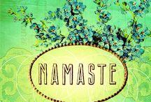 Namaste / by Gina Andrade