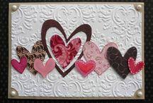 Love/Valentine Cards / by Christa Beard