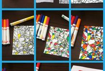 Art Activity for the Substitute Teacher / art activity lesson plan substitute teacher