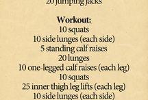Dancer leg workouts