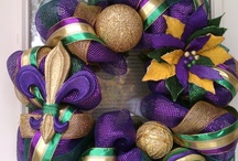Mardi Gras Wreaths / by Ashleigh Creech