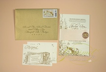 Pink and Gold Wedding Ideas / pink and gold wedding invitations and inspirations / by Gourmet Invitations