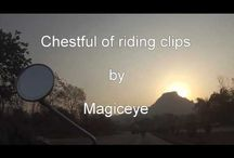 Chestful of riding clips