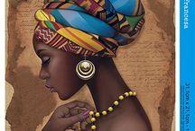 Africanas em tela