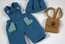 Knitting / Overalls