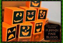 Halloween und Herbst