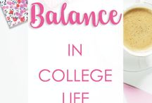 COLLEGE TIPS & COLLEGE LIFE / College advice, college tips, college blogs, & things I wish I knew before starting college!