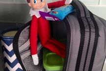 Elf on the shelf / Because I feel like coming up with at least a month worth of creative poses will be tough.