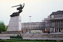 Osiedle Plac Teatralny -  Warszawa PRL