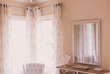 New Sierra Vista Bridal Dressing Room / Sierra Vista Va | Megan Vaughan Photography | Celebration Bridal | The Arrangement Company | Hair Designs by Jessica | Makeup by Ashley