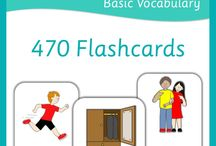 vocabulary cards (pictures)
