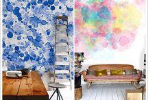 paredes pintadas