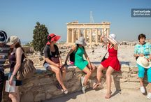 Myths from Greece / Ancient amphitheaters and Mediterranean bays, fresh Greek salads and sunshine every day: Welcome to Greece.