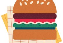 Illustration :: Nibbles + Greens