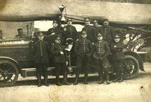 strażackie w Polsce / Samochody używane przez straże pożarne w Polce w latach 1918-39 oraz we wczesnym PRLu