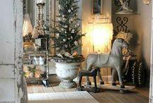 рождественская декорация