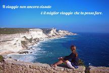Corsica on the road / Viaggiare in Corsica