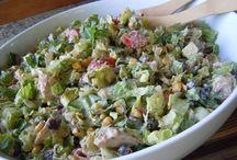 Salads / by Carolyn Hollingshead