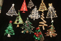 Christmas Tree Pins / by Sheryl Kneebone