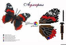 motylci z korálku