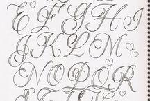 letras para aprenderme