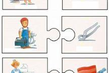 puzzle meserii