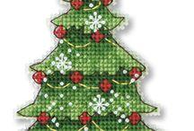 Χριστουγεννιάτικα σχέδια-εικόνες για κέντημα