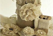 flores de tecidos