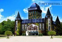 Kasteel Almere / Eco building # Back to Nature # Education # Together # Team spirit