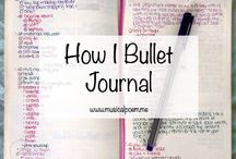 Bullet Journal / by Sharon Falk