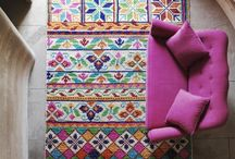 Rugs & Textiles / Feet deserve a good pattern, too! / by Marianne Taylor Photography