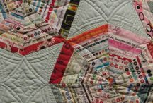Selvage quilts / How to use all your fabric, without waste.