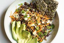 Salads / Vegan salad recipes.