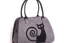 Felt bags, handbag, shoulder bags and felted purses / Felt bags Felt purses Felted handbags felt tote bags Felted handbags for women. Women's fashion.
