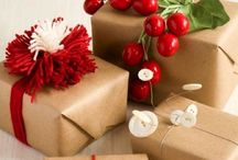 Jul / Julegaver, innpakning, kaker og pynting