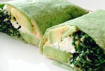 Healthy Wraps, Tacos & Burritos / Healthy, easy and delicious wraps, tacos, tortillas, rolls.