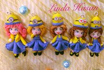 Minions / Polymer Clay -Fimo doll