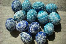 veľkonočné vajíčka