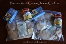 Freezer Cooking / Recipes and tips for making make ahead meals / by Stacy Mannion